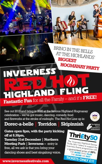 Red Hot Highland Fling Poster
