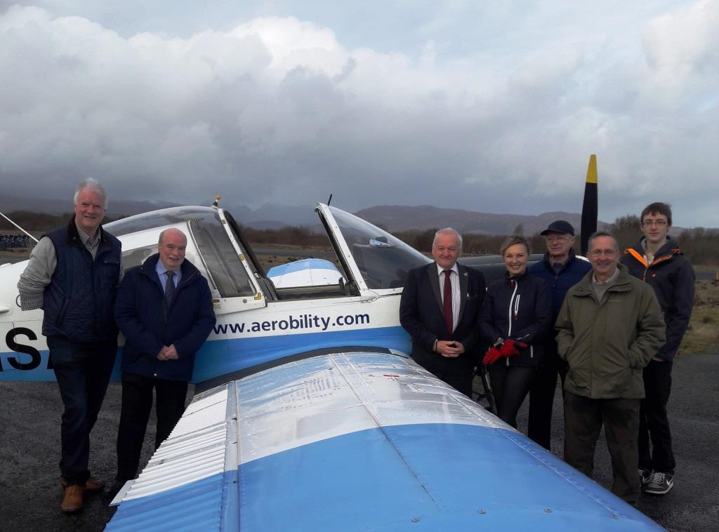 At Ashaig aerodrome, Broadford