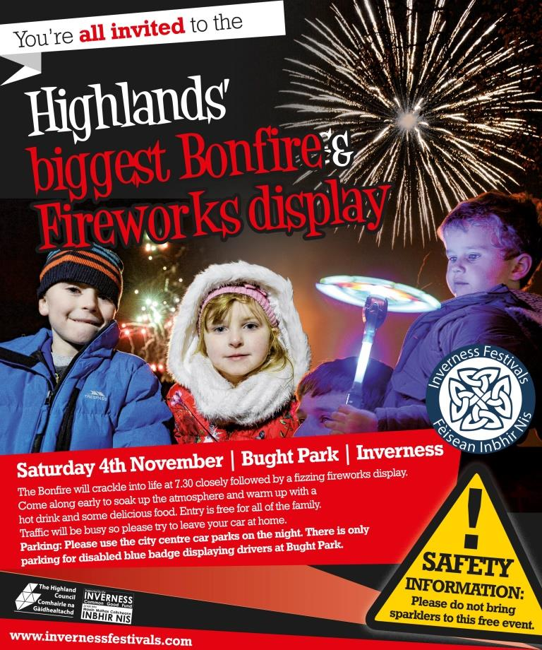 Inverness Bonfire
