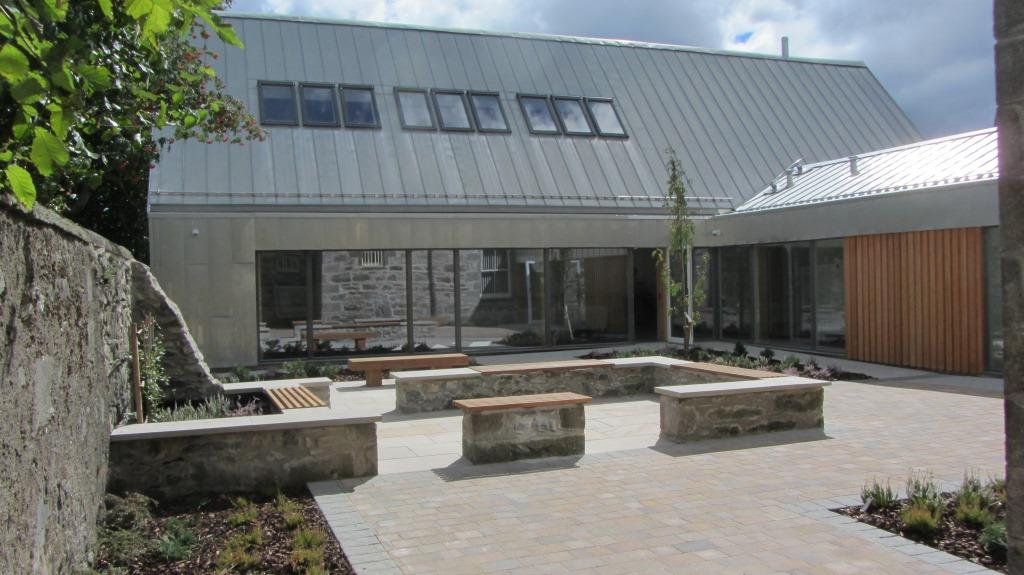 Kingussie Courthouse extension