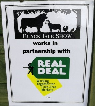 Black Isle Show Real Deal Poster