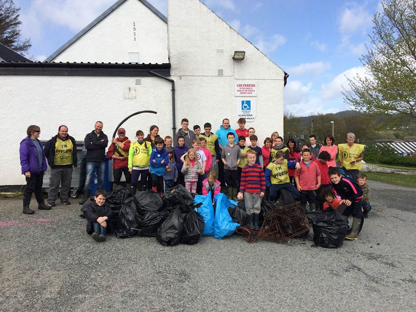 Broadford clean up