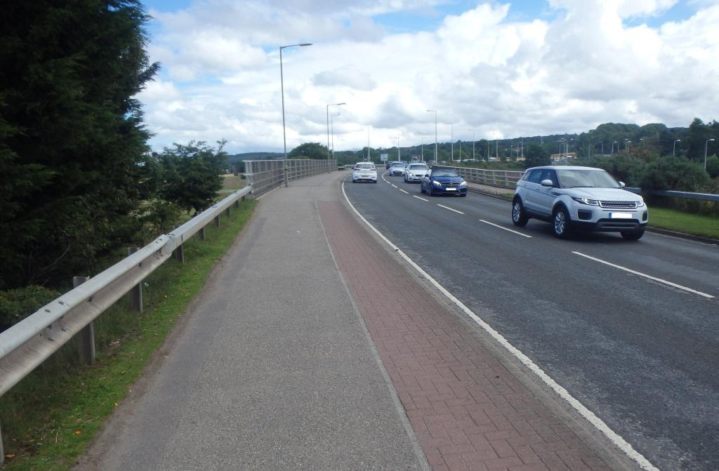 Works will widen Culloden Road's approach to Inshes Roundabout