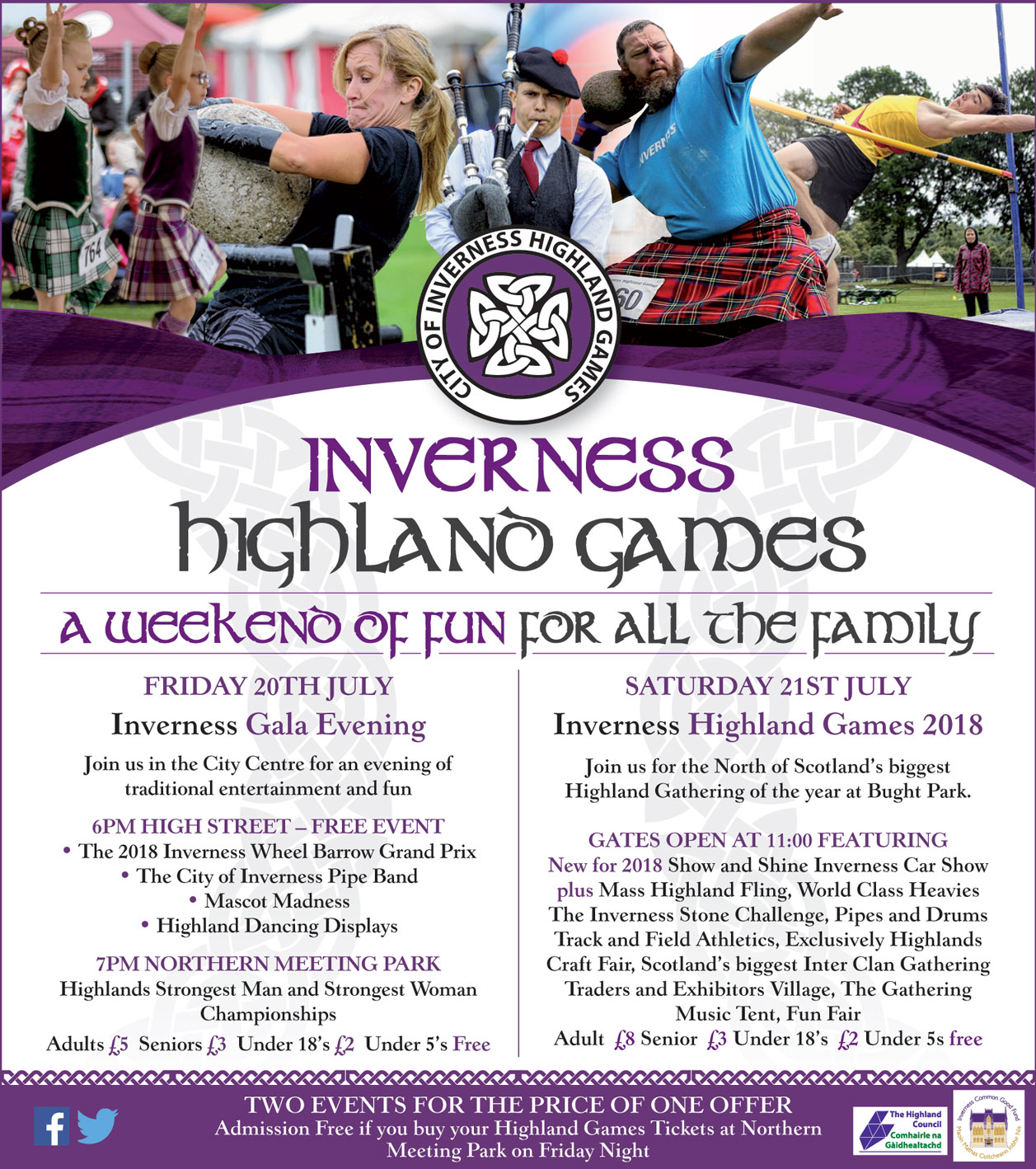 Inverness Highland Games (2018) Poster