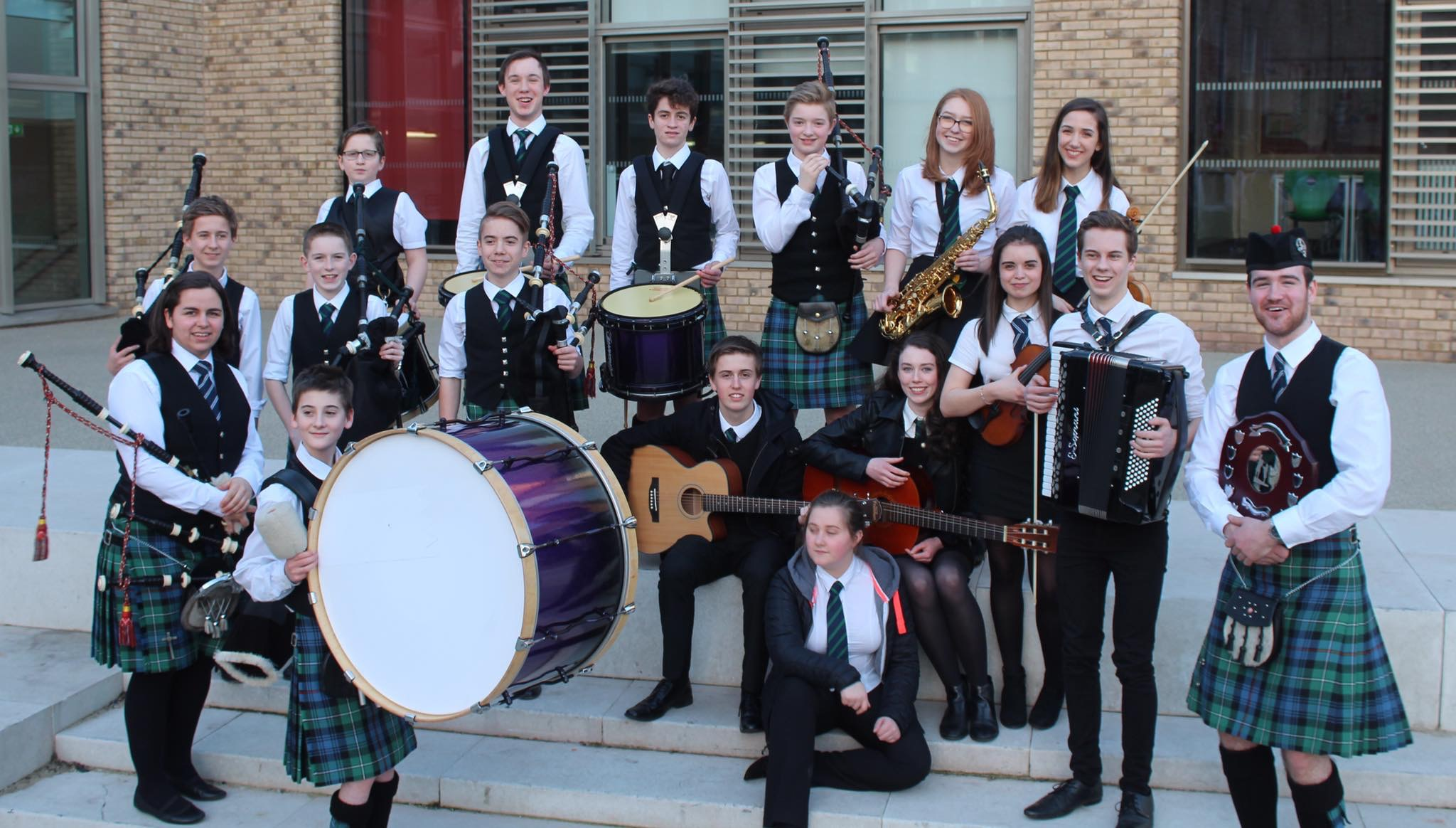 Gairloch High School won the Debut 'B' competition