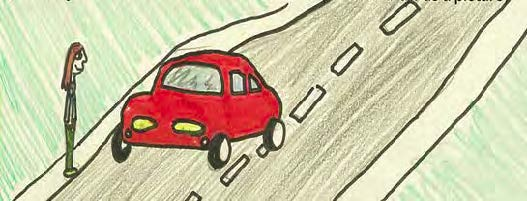 road safety drawing