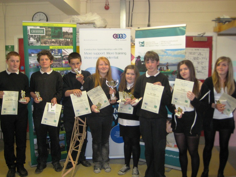 Ardnamurchan pupils display their awards