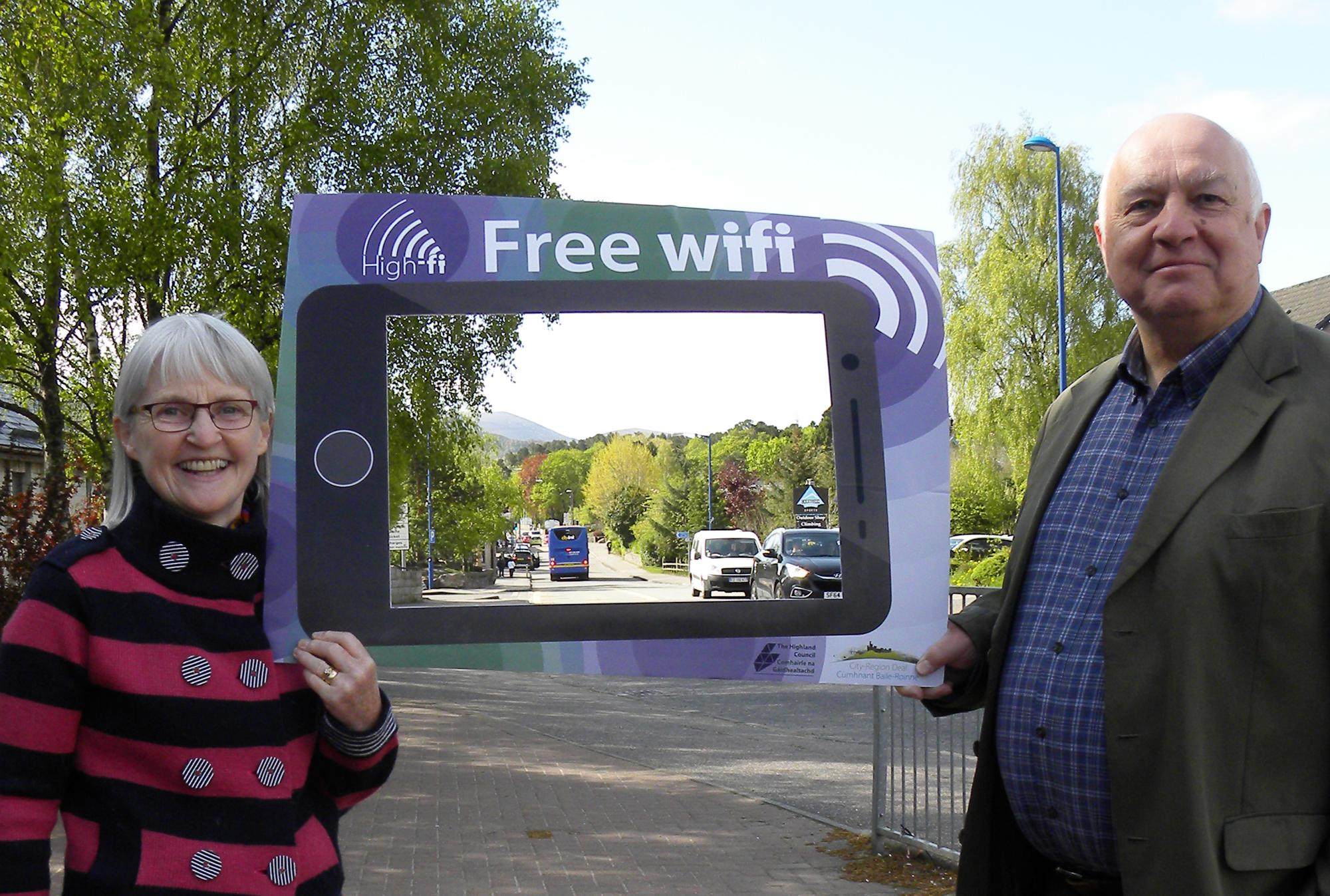 free wifi project