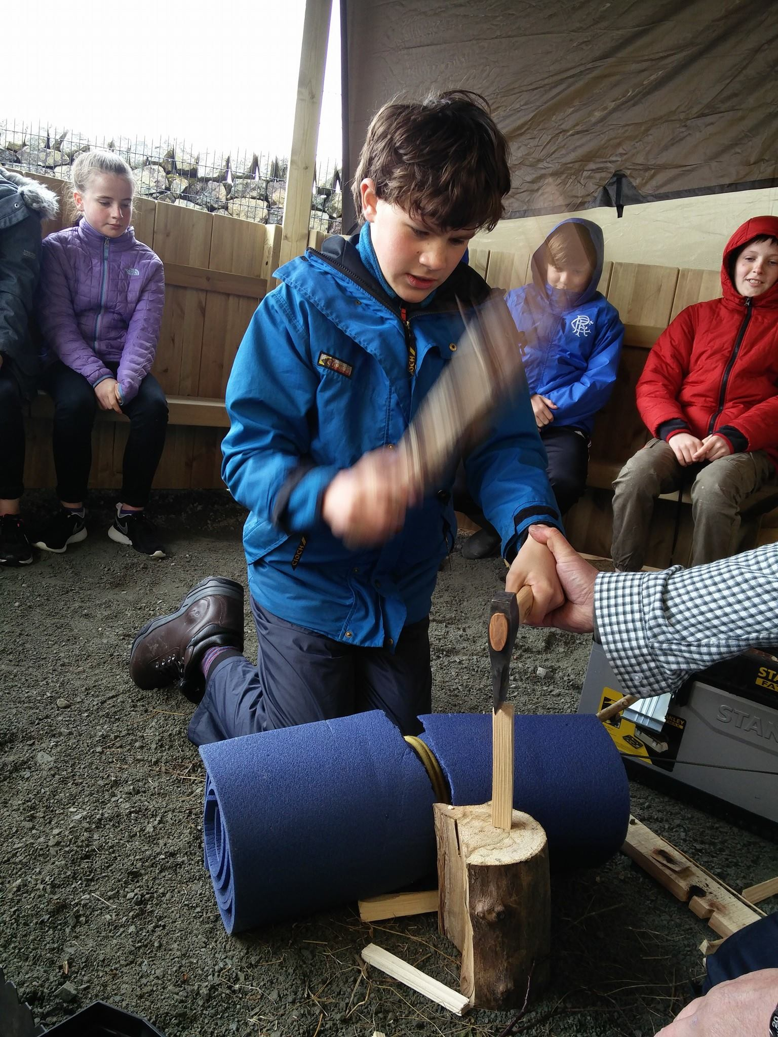 Valuable Skills for Life – The Bushcraft sessions provide practical training for young people