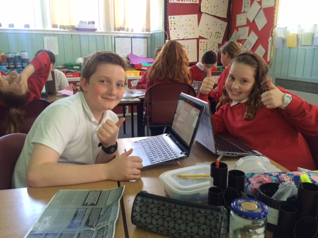 computers in use by pupils