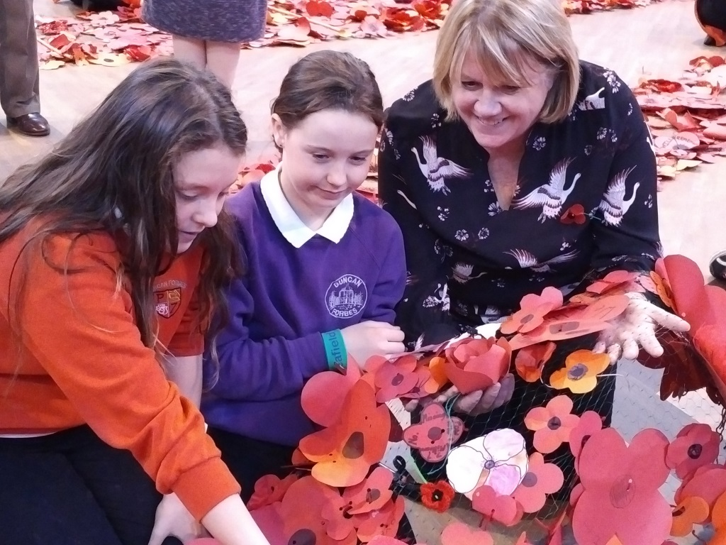Culloden Academy Poppies