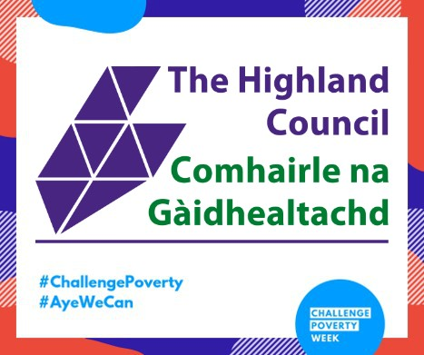 Highland Council supporting Challenge Poverty Week (7 – 13 Octob