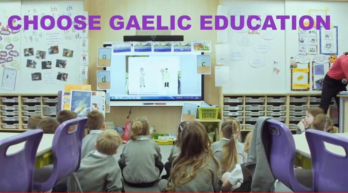 Choose Gaelic Education