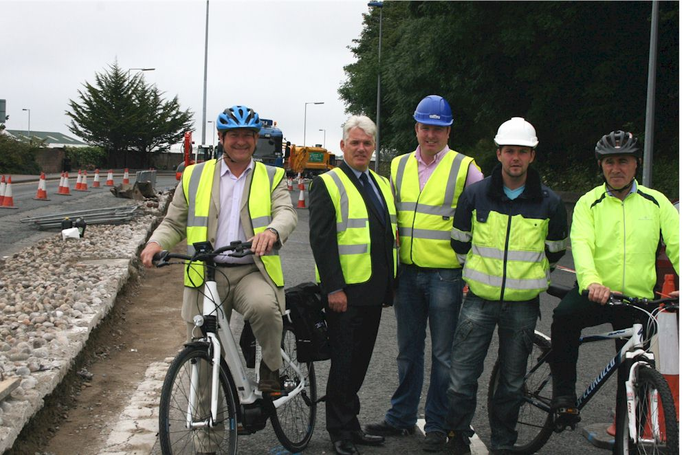 Work on city cycle route begins