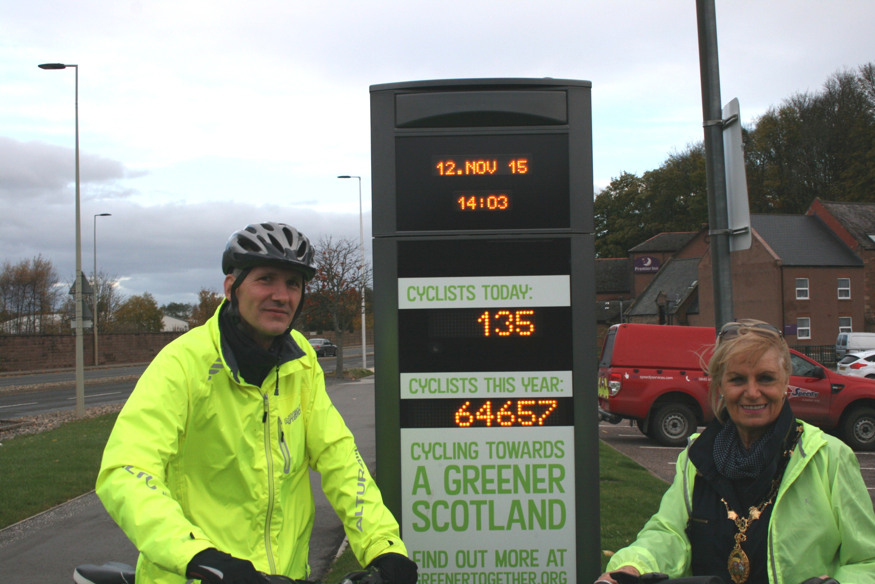 PHOTO OF CYCLE COUNTER