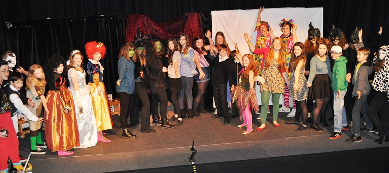 Ardnamurchan High School Pantomime