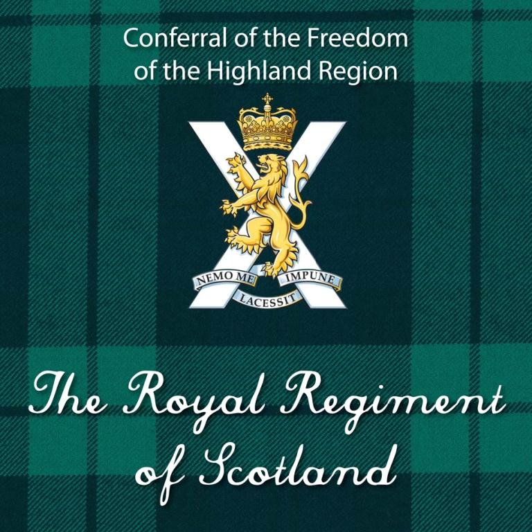 Freedom of the Highland Region