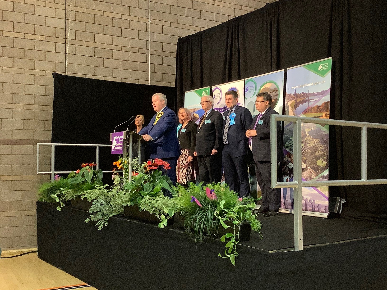•	Ian BLACKFORD - Scottish National Party (SNP) is elected to the Ross, Skye and Lochaber constituency