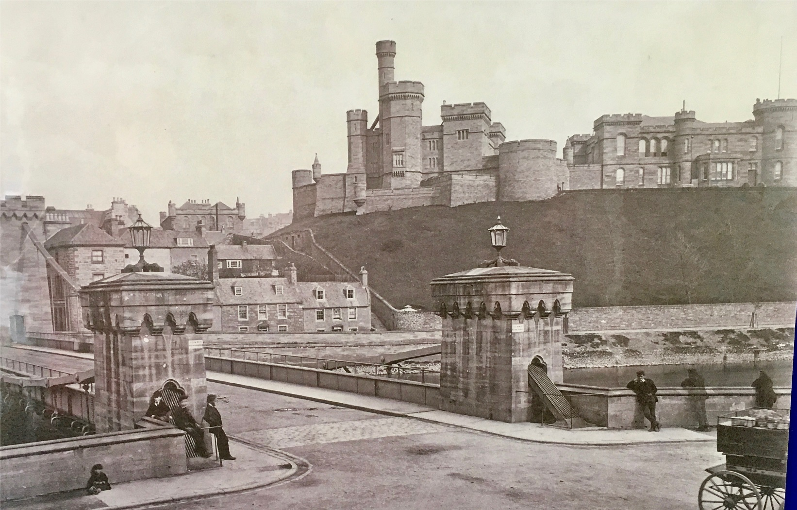 Inverness Castle, dating from the twentieth century. © HLH/Highland Libraries