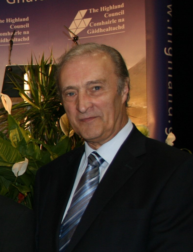 Former Cllr Jim Crawford at The Highland Council 2012 election
