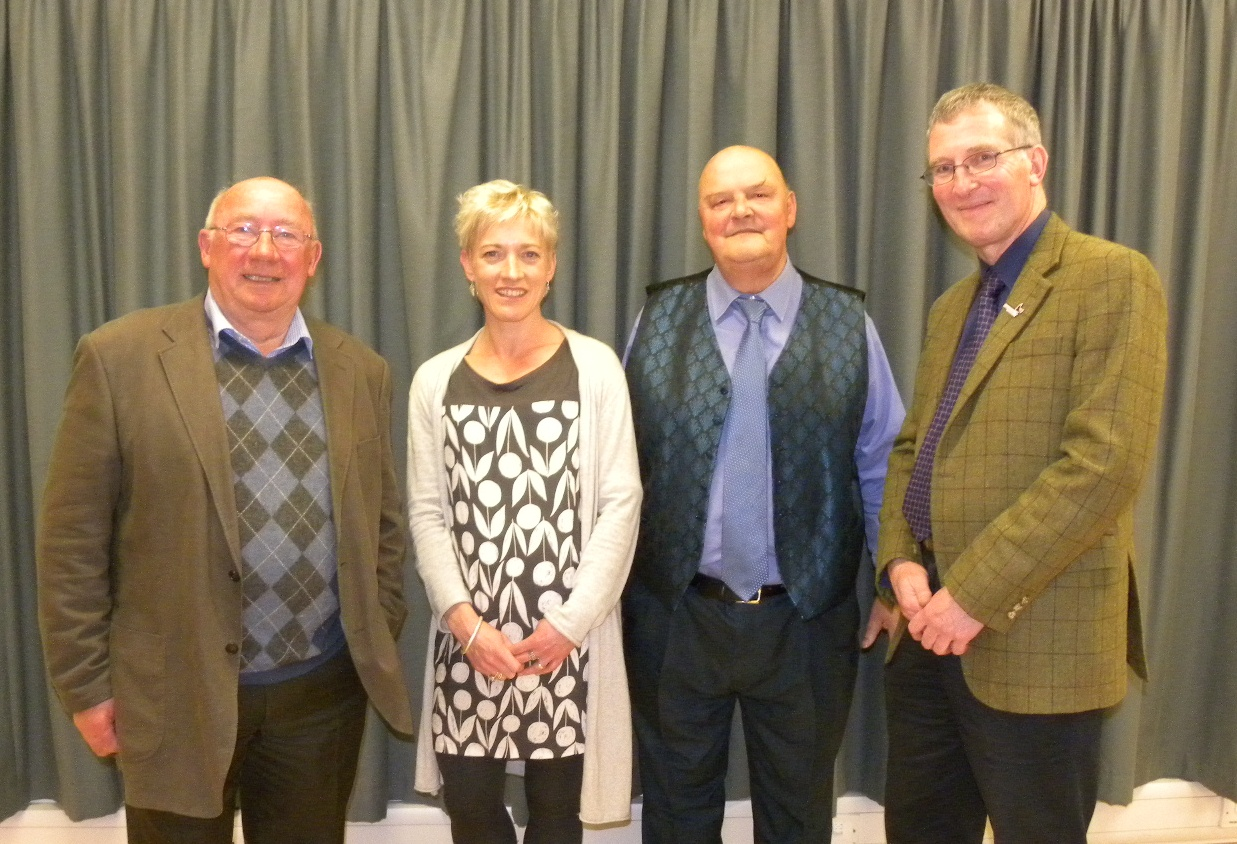 Newly elected members of the Cairngorms National Park Authority Board