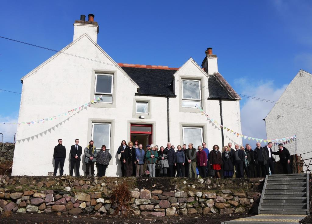 School house coigach open day