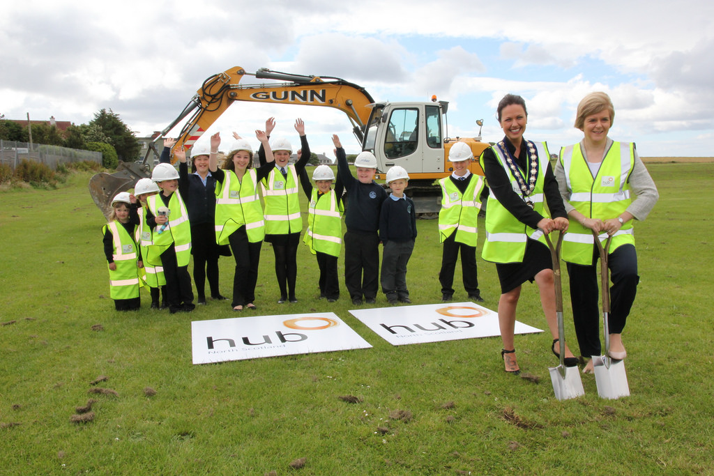 turf cutting photo