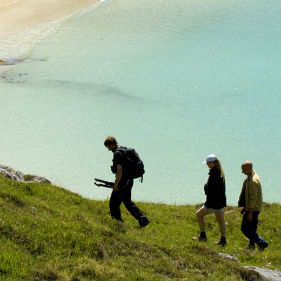 Walking above the bay achmelvich 2 iain serjeant